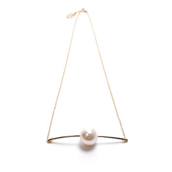 Only You Necklace - Pearl/Gold