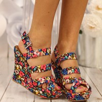 Bloom Where You Are Planted Wedges