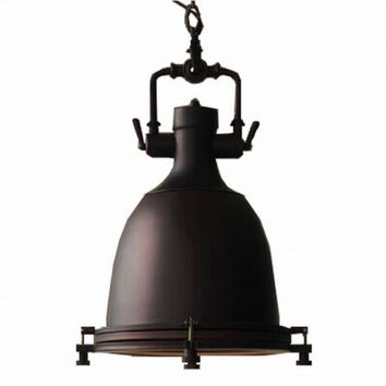 Euro countryside industrial RH loft dock restaurant pendant lamp light