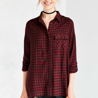 BDG Shannen Plaid Button-Down Shirt - Urban Outfitters