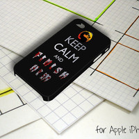 Keep Calm and Finish Him Mortal Kombat iPhone 5 Case