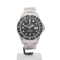 ROLEX GMT-MASTER STAINLESS STEEL WATCH 16700 40MM W4085