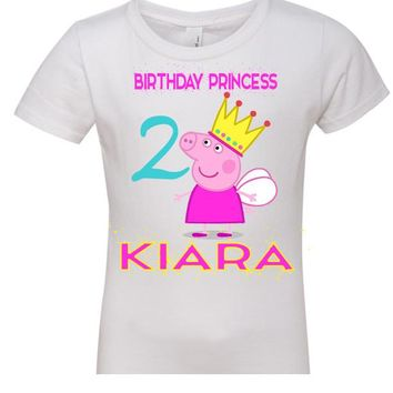 PEPPA PIG PRINCESS FAMILY SHIRT, $10.00