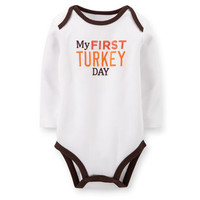 First Turkey Day Bodysuit