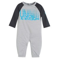 Baby Boy Under Armour  Raglan Coverall