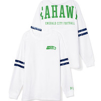 Seattle Seahawks Bling Varsity Crew - PINK - Victoria's Secret