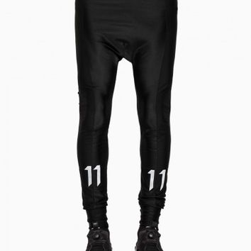 Leggings from the S/S2015 Boris Bidjan Saberi 11 collection in black.