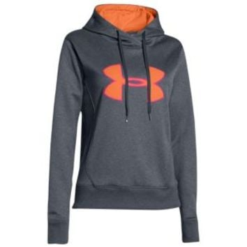 Under Armour Storm Armour Big Logo Applique Hoodie - Women's at Lady Foot Locker