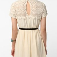 UrbanOutfitters.com > Pins and Needles Crochet Top Chiffon Dress