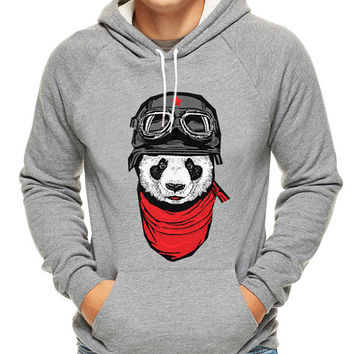 The Happy Panda , hoodie for men, hoodie for women, cotton hoodie on Size S-3XL heppy hoodied.