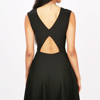 Keyhole Skater Dress