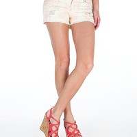 Celebrity Pink Floral Stretch Short