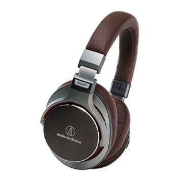 Audio-Technica ATH MSR7 - Headphones with mic - full size - 3.5 mm jack - gunmetal | Dell United States