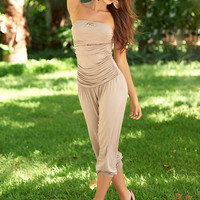 Bandeau Top Jumpsuit