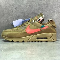 "Off-White x Nike Air Max 90 ""Desert Ore"" - Best Deal Online"