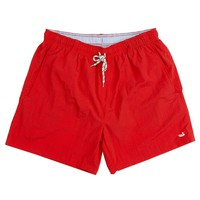Dockside Swim Trunk in Red by Southern Marsh - FINAL SALE