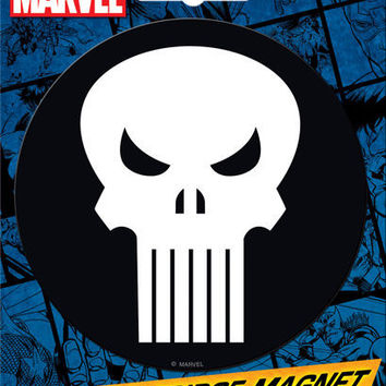 Punisher Car Magnet