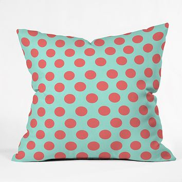 Allyson Johnson Adorable Dots Throw Pillow