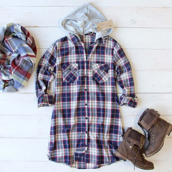 Big Sky Hooded Dress