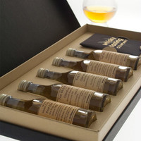 Personalised Five Bottle Whisky Gift Set