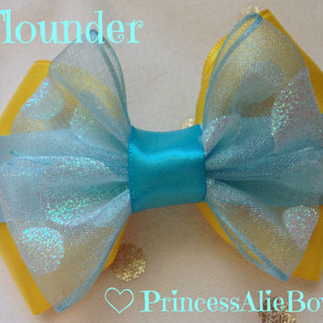 The Little Mermaid's Flounder Bow