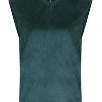 Artificial Suede Vest with Double Layer