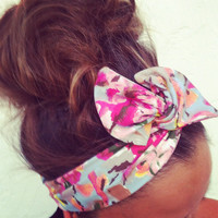 FREE SHIPPING - Dolly Bow Wire Headband