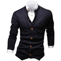 Jeansian Men's Fashion Jacket Outerwear Tops