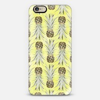 Pineapple Jungle - Yellow iPhone 6 case by Lisa Argyropoulos | Casetify