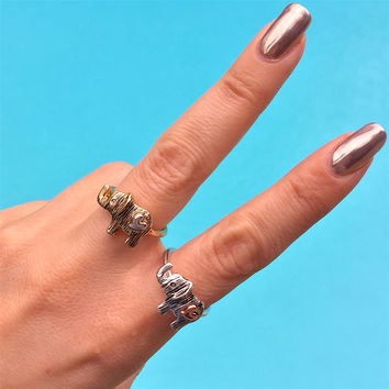 Elephant Heart Ring by Social Saints