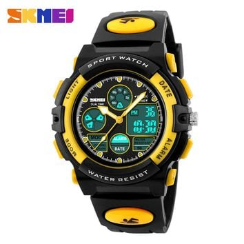 Skmei Children Watch Fashion Casual Waterproof Multifunction Quartz Digital Sports Watches For Boys Girls Students Wristwatches