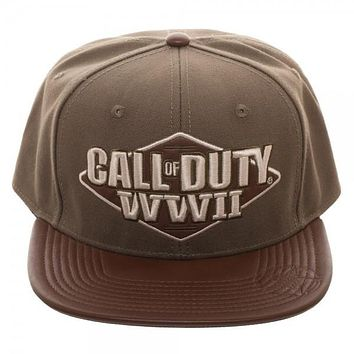 Call of Duty: World War II 3D Embroidered Snapback Hat