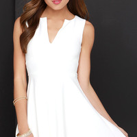 For All Time Ivory Dress