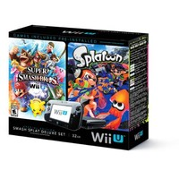 Nintendo Wii U Splatoon and Super Smash Bros Console Deluxe Set - Walmart.com