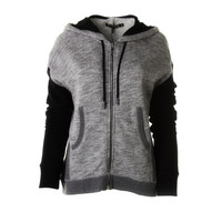 Rag &  Bone Womens French Terry Full Zip Hoodie