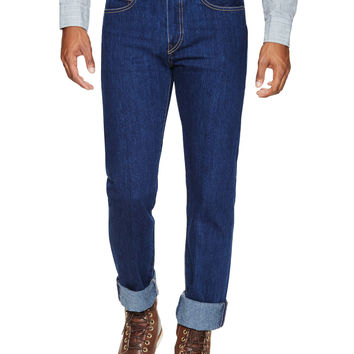 Needle Narrow Rinse Slim Fit Jeans
