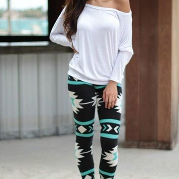 Trendy Tribal Leggings