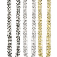 Z Designs Multi Strand Metal Bead Necklace