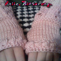 Lace Rib Gloves