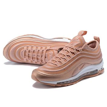 Trendsetter Nike Air Max 97 Ul '17 Se  Women Men Fashion Casual Sneakers Sport Shoes