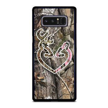CAMO BROWNING LOVE-PHONE 5 Samsung Galaxy Note 8 Case Cover