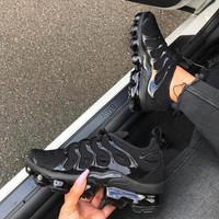 Nike Air Vapormax Plus Triple White Running Sneakers Sport Shoes