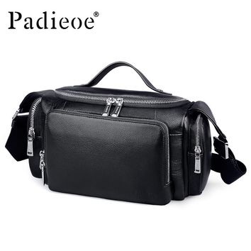 Men's Large Capacity Genuine Leather Travel Bags Durable Man Travel Bags Hand Luggage Leather Large Shoulder Weekend Bag