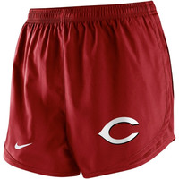 Nike Cincinnati Reds Women's Tempo Performance Shorts - Red