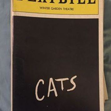 Cats Playbill