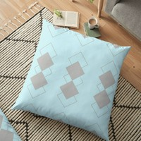 'Anvil ' Floor Pillow by David Darcy