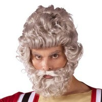 Moses Wig and Beard Set - Adult Size