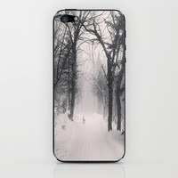Wolf iPhone & iPod Skin by Olivier P.