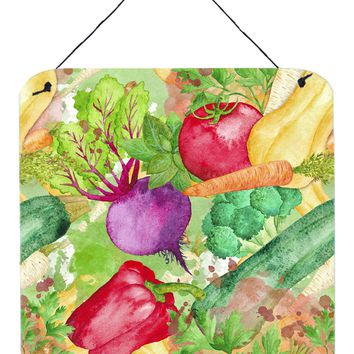 Watercolor Vegetables Farm to Table Wall or Door Hanging Prints BB7572DS66