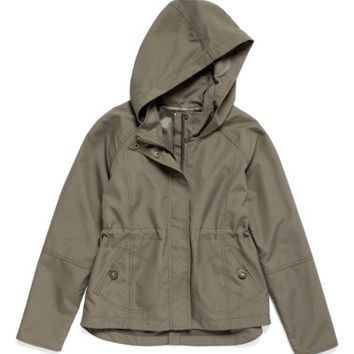 O'Neill Windy Water Resistant Hooded Jacket (Big Girls) | Nordstrom